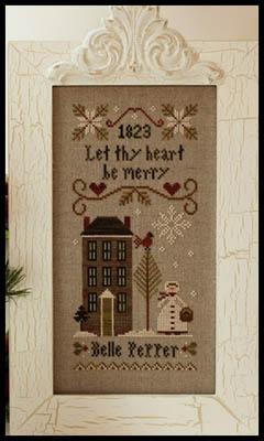 Be Merry - Belle Pepper from Little House Needleworks